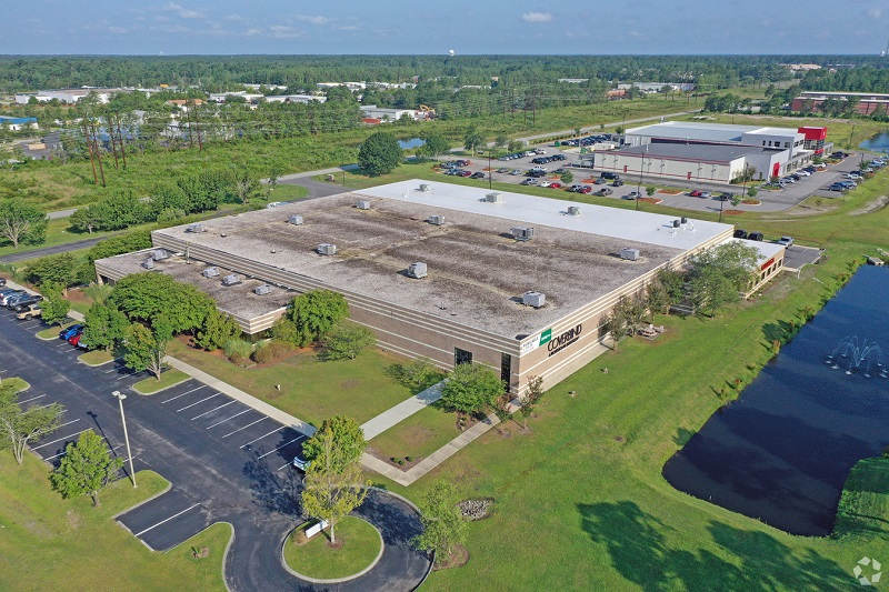 large industrial space in the northchase industrial park
