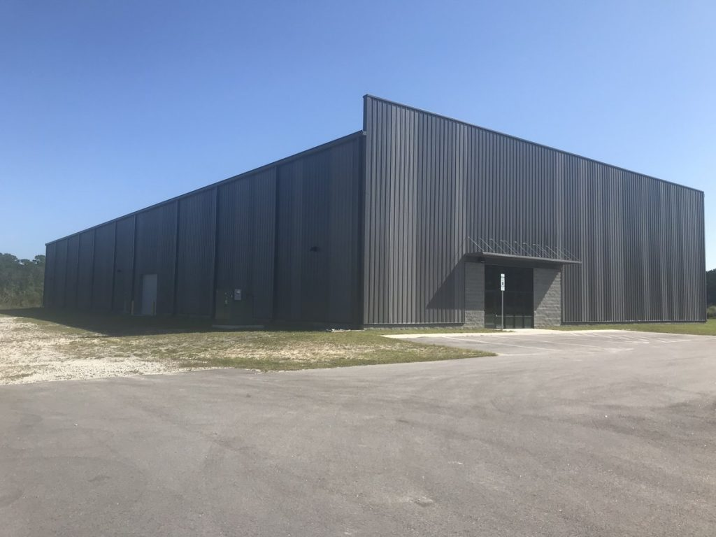 Industrial Shell Building in Jacksonville, NC for Sale