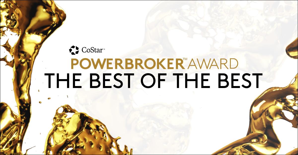 CoStar Power Broker Award