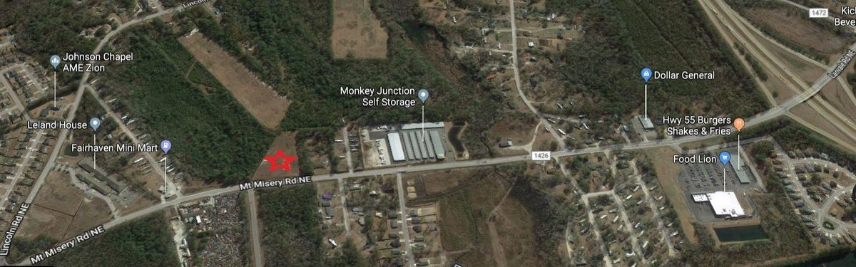 2.8 +/- Acres Vacant Land in Leland, NC