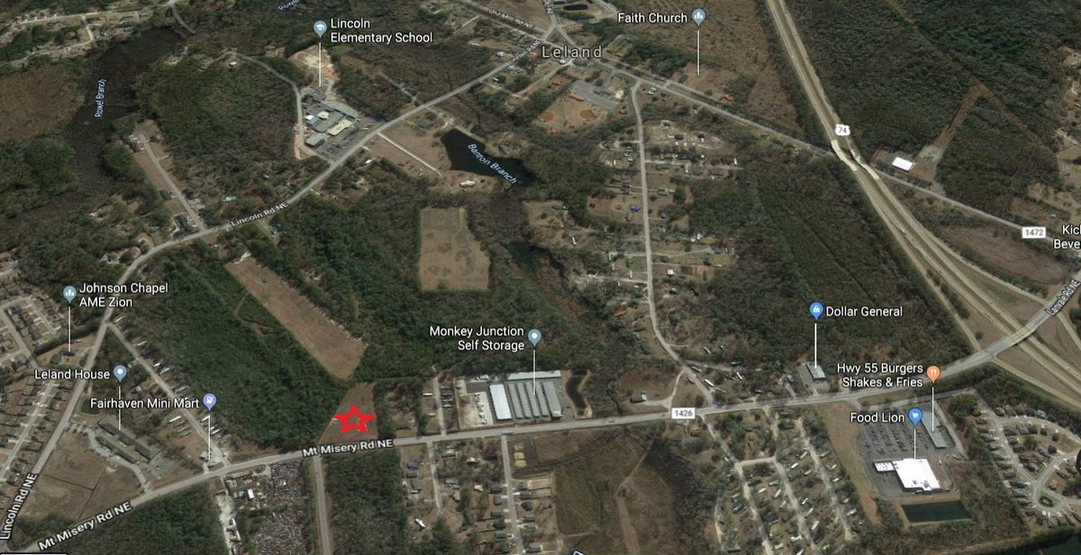 Vacant Land in Leland, NC
